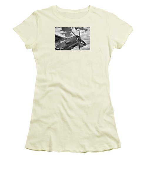 Grounded Women's T-Shirt (Junior Cut) by Tgchan