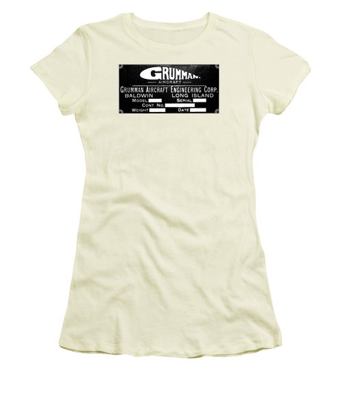 Grumman Product Plate Women's T-Shirt (Athletic Fit)