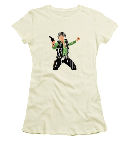 Han Solo From Star Wars Women's T-Shirt (Athletic Fit)