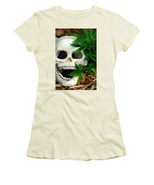 Happy Women's T-Shirt (Athletic Fit)