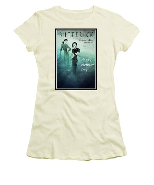 Happy Mother's Day Women's T-Shirt (Junior Cut) by Patrice Zinck