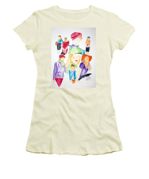 Hats Women's T-Shirt (Athletic Fit)