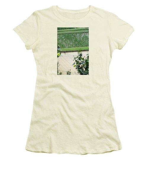 Hawaiian Transplants Women's T-Shirt (Junior Cut) by Brenda Pressnall