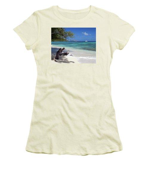 Hawksnest Bay 1 Women's T-Shirt (Athletic Fit)