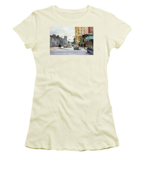 Heading West On College Avenue - Appleton Women's T-Shirt (Athletic Fit)