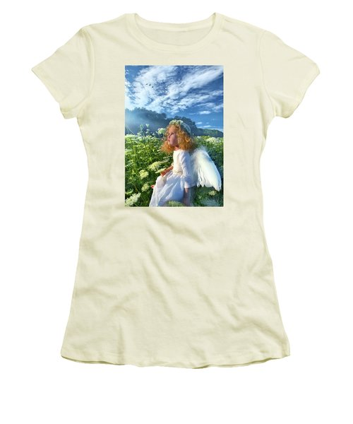 Heaven Sent Women's T-Shirt (Athletic Fit)