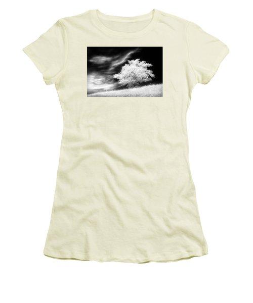 Women's T-Shirt (Junior Cut) featuring the photograph Heavenly Places by Dan Jurak