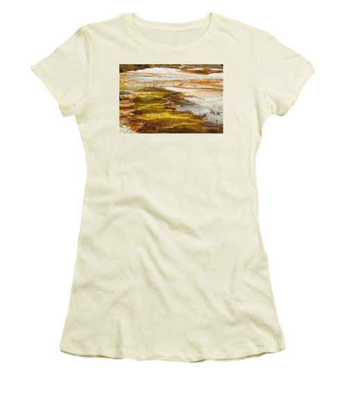 Women's T-Shirt (Junior Cut) featuring the photograph Heavens Staircase by Robert Pearson