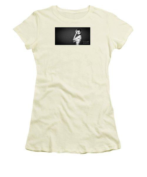Hello Women's T-Shirt (Junior Cut) by Gregory Worsham
