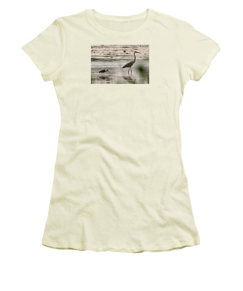 Heron And Ibis Women's T-Shirt (Athletic Fit)