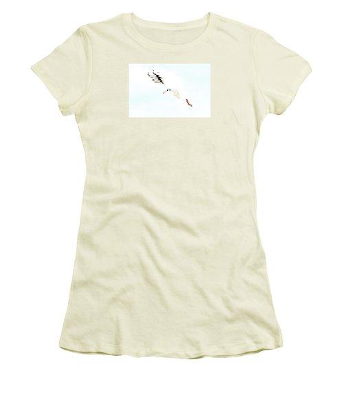 Women's T-Shirt (Junior Cut) featuring the photograph Hi Fly by Gary Bridger