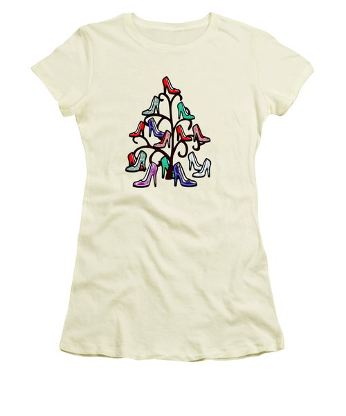 High Heels Tree Women's T-Shirt (Athletic Fit)