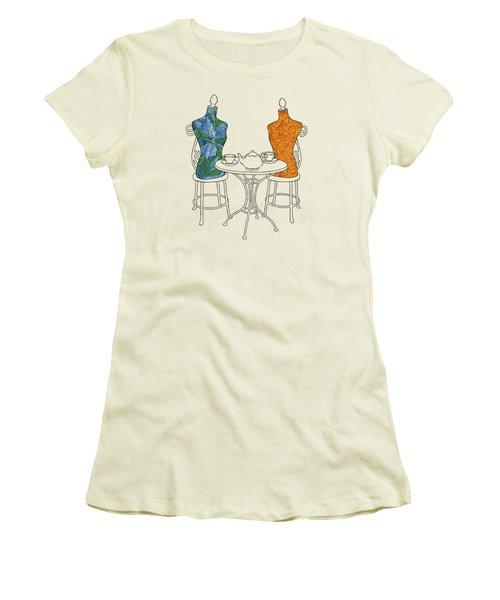 High Tea Women's T-Shirt (Athletic Fit)