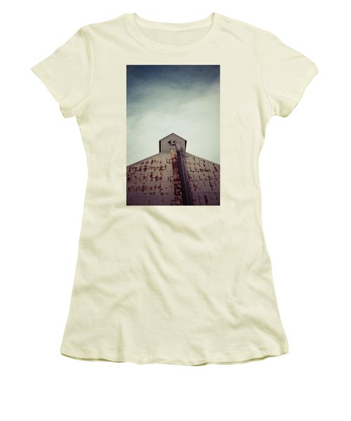 Women's T-Shirt (Junior Cut) featuring the photograph High View by Trish Mistric