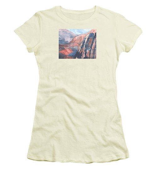 Higher Ground Women's T-Shirt (Athletic Fit)