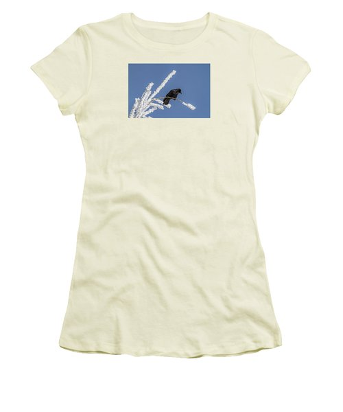 Hoarfrost And The Crow Women's T-Shirt (Athletic Fit)