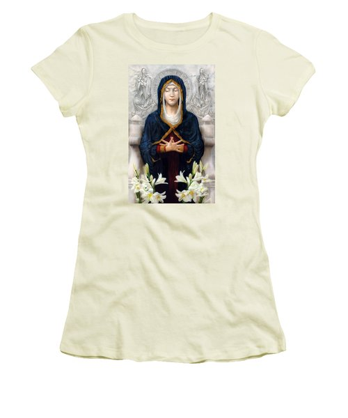 Holy Woman Women's T-Shirt (Athletic Fit)