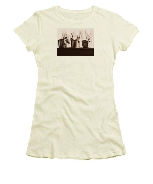 Honeybee Smokers Women's T-Shirt (Junior Cut) by Kristine Nora