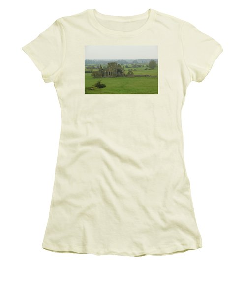 Women's T-Shirt (Junior Cut) featuring the photograph Hore Abbey by Marie Leslie