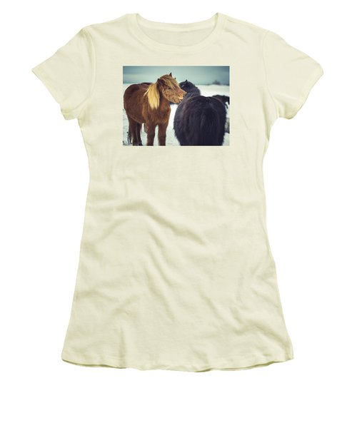 Horse Friends Forever Women's T-Shirt (Athletic Fit)
