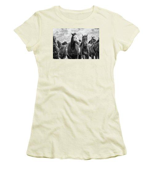 Horsepower Women's T-Shirt (Junior Cut)
