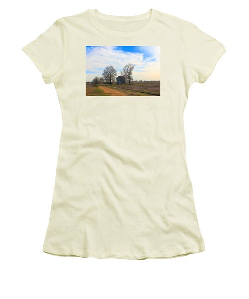 Hwy 8 Old House 2 Women's T-Shirt (Athletic Fit)
