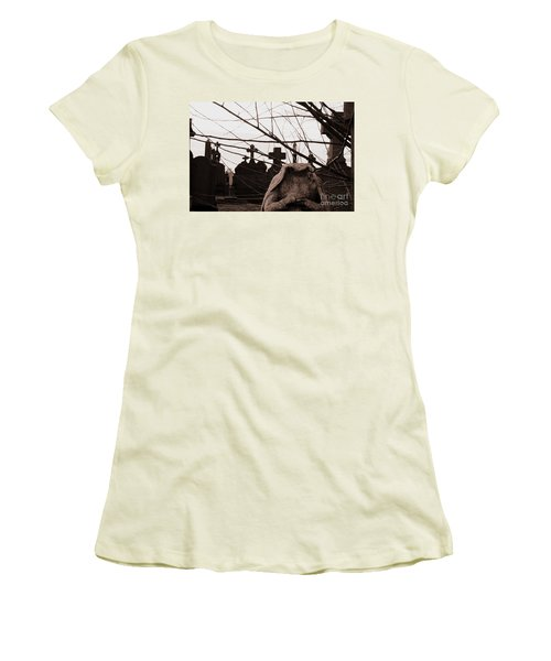 I Ask Why Women's T-Shirt (Athletic Fit)