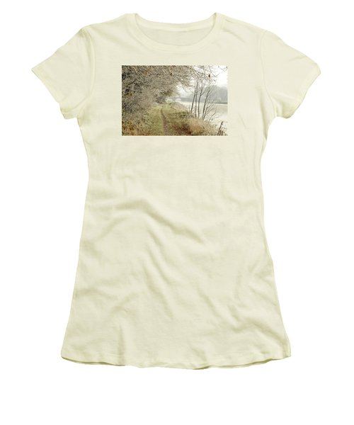 Ice And Mist Women's T-Shirt (Athletic Fit)
