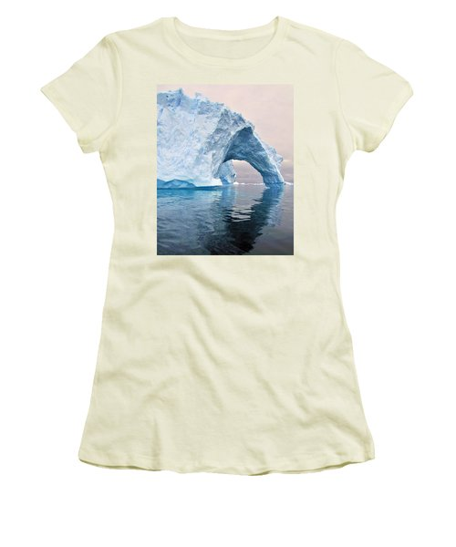 Iceberg Alley Women's T-Shirt (Junior Cut) by Tony Beck
