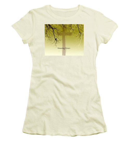 Immanuel- My Saviour Women's T-Shirt (Junior Cut) by Trilby Cole