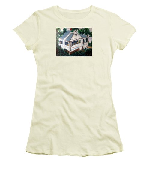 Impressions Of Cape Cod Women's T-Shirt (Junior Cut) by Roxy Rich