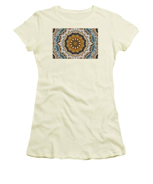 Women's T-Shirt (Athletic Fit) featuring the digital art Impressions by Wendy J St Christopher