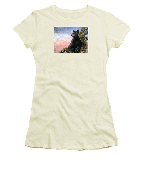 In The Eyes Of Innocence  Women's T-Shirt (Junior Cut) by J W Baker