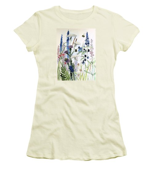 In The Garden Women's T-Shirt (Athletic Fit)