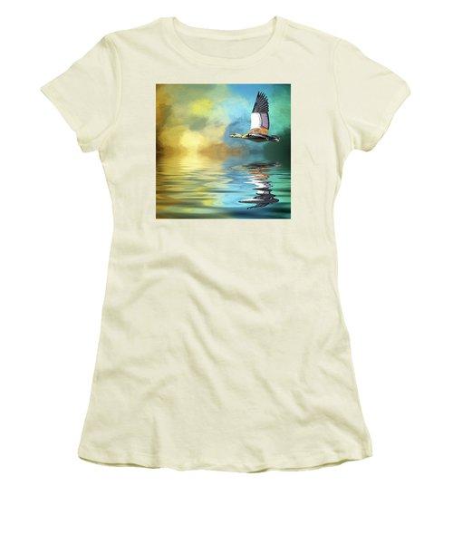 Incoming Women's T-Shirt (Junior Cut) by Cyndy Doty