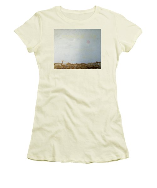 Women's T-Shirt (Junior Cut) featuring the painting Incredible Lightness Of Being by Lenore Senior