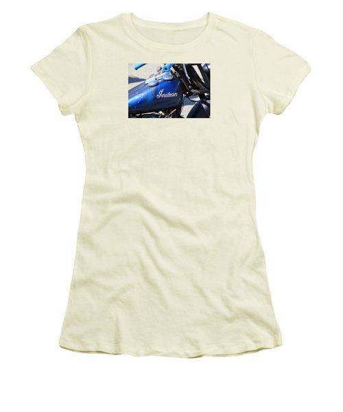 Indian Blue Women's T-Shirt (Junior Cut)