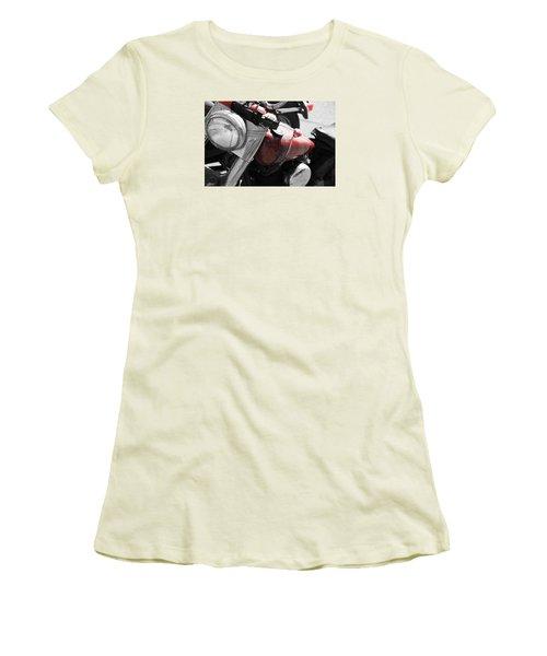 Indian Red Women's T-Shirt (Junior Cut)
