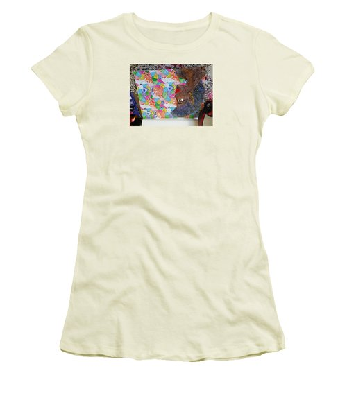 Indigos Women's T-Shirt (Athletic Fit)