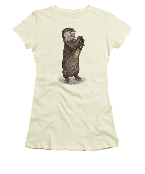 Infatuated Otter Women's T-Shirt (Athletic Fit)