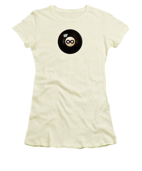 Infinity Ball Women's T-Shirt (Junior Cut) by Nicholas Ely
