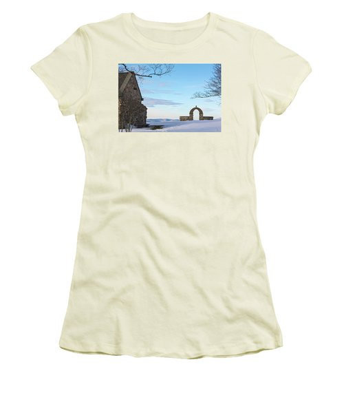 Inner Peace Of Pastel Koolness Women's T-Shirt (Athletic Fit)