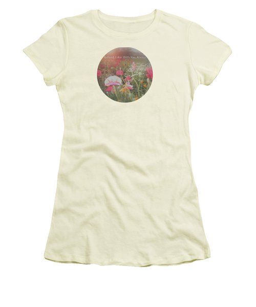 Inspirational Poppies In The Light Women's T-Shirt (Athletic Fit)