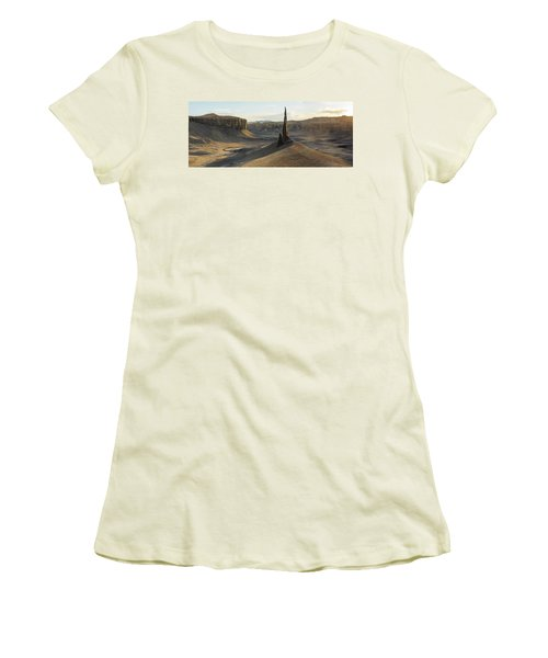 Women's T-Shirt (Athletic Fit) featuring the photograph Inspired Light by Dustin LeFevre