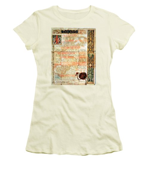 International Code Of Medical Ethics Women's T-Shirt (Junior Cut) by Science Source