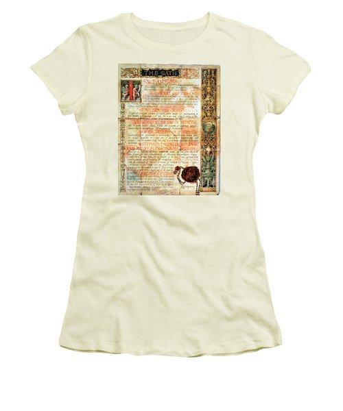 International Code Of Medical Ethics Women's T-Shirt (Junior Cut)