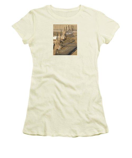 Intersection Women's T-Shirt (Junior Cut) by Lynda Lehmann