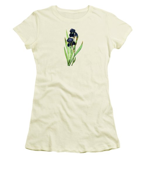 Iris Germanica Women's T-Shirt (Athletic Fit)
