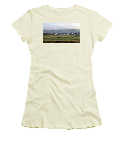 Irish Sheep Farm II Women's T-Shirt (Athletic Fit)