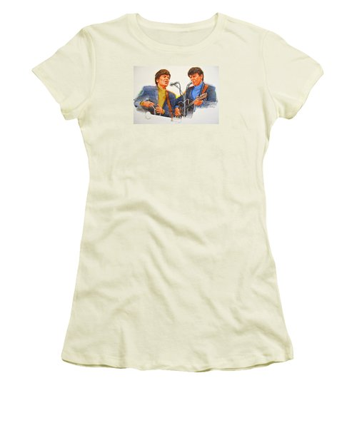 Its Rock And Roll 4  - Everly Brothers Women's T-Shirt (Athletic Fit)